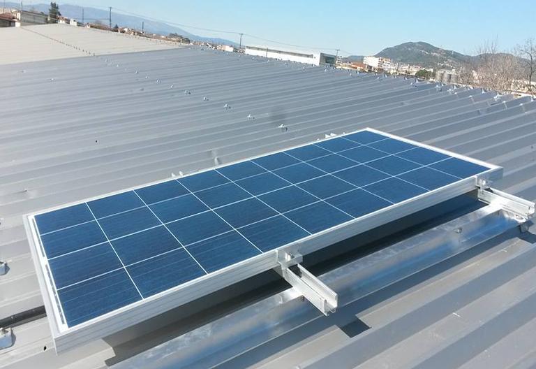 Εγκατάσταση συναγερμού  RISCO και φωτισμού σε αποθήκη με τροφοδοσία από  Φωτοβολταϊκο  σύστημα και μεγάλη αυτονομία.